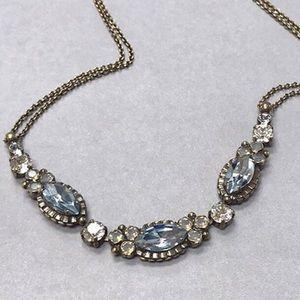 Sorrelli Coastal Blue Crystal Necklace,NWT
